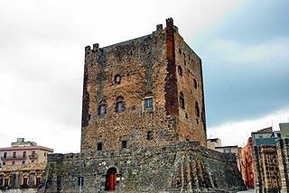 castle in Adrano, Sicily