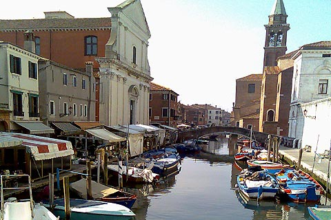 Photo of Chioggia (Venice-Veneto region)