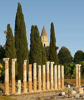 Roman ruins at Aquileia