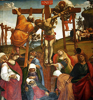 Deposition from the Cross by Luca Signorelli