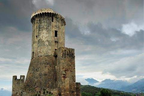 Substantial medieval tower