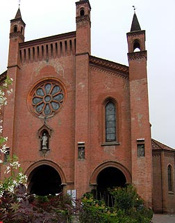 cathedral in Alba, Piedmont