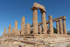 Temples in Agrigento, Sicily