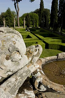 gardens of the Farnese Palace