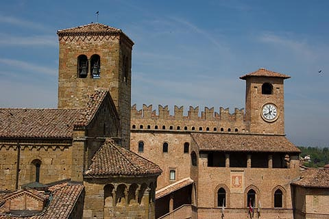 Photo of Castell'Arquato (Emilia-Romagna region)