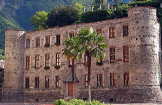 Castle in Chiavenna
