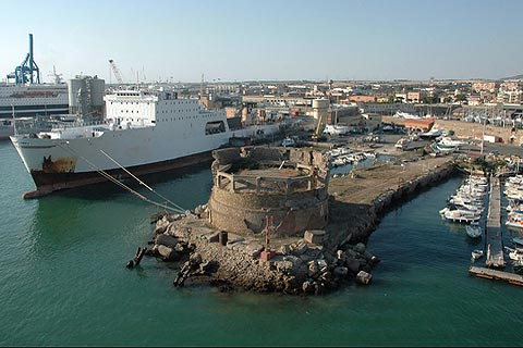 Civitavecchia italy places to visit including the - Getting from civitavecchia port to rome ...