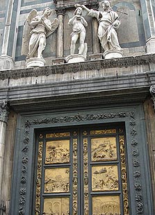Gates of Paradise in Florence