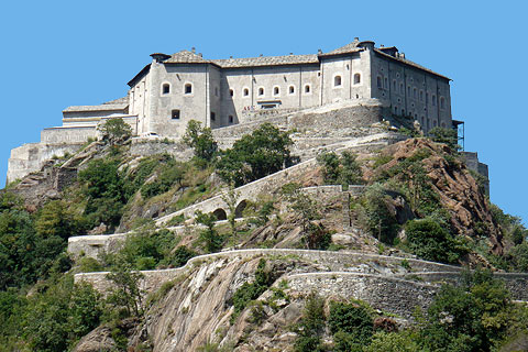 Photo of Fortress of Bard (Aosta valley region)