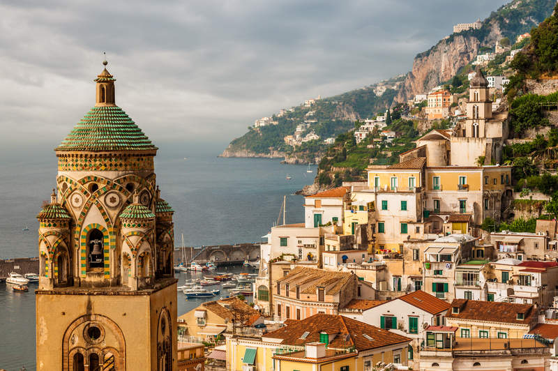 Photo De Amalfi Campania Region