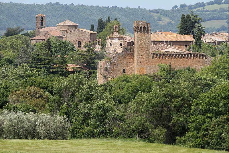 Photo of Sovana (Tuscany region)