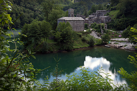 Garfagnana, hidden region of deep wooded valleys and ancient villages in northern Tuscany