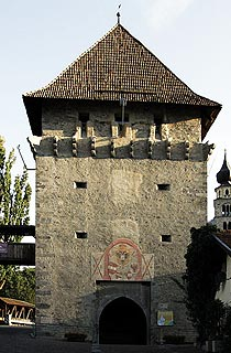 Tower in Glorenza