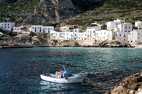 Levanzo Sicily visit the important prehistoric sites of Levanzo island