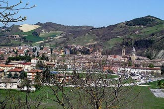 Urbania in the Marche region of Italy