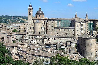 Urbino, Marches region of Italy