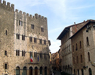 Attractive piazza in center of Massa Marittima