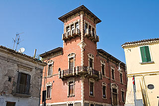 Pastore Palace in Melfi