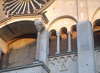 Detail of Cathedral in Modena