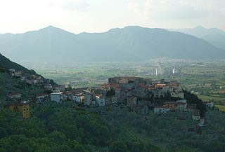 Quiet village in Molise
