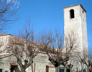 Church in Narni centre