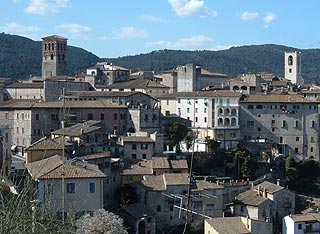 View across Narni
