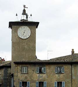 Tower in Orvieto old town