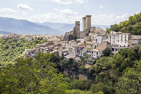 Photo of Pacentro (Abruzzo region)