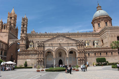 Photo of Palermo cathedral