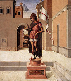painting by Bellini in Pesaro Museum