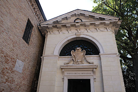 Photo of Dante's Tomb in Ravenna