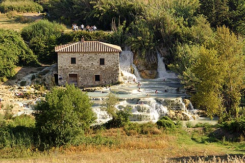 Photo de Saturnia (Tuscany region)