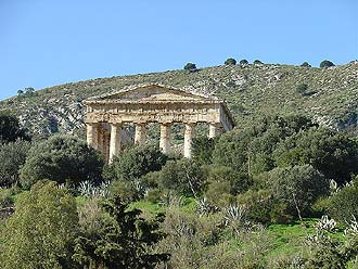 Ancient Temple at Segesta, Sicily