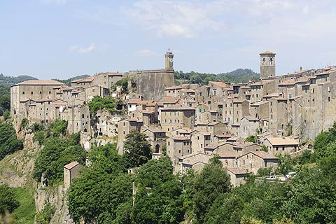 Photo of Sorano (Tuscany region)