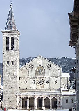 Spoleto Cathedral, Italy