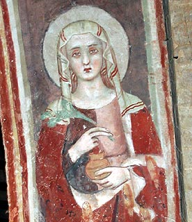 Fresco in Todi church