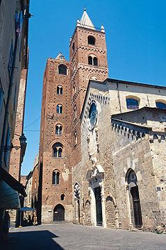 Cathedral in Albenga, Italy