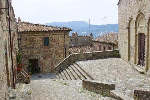 Centre of historic village of Radda