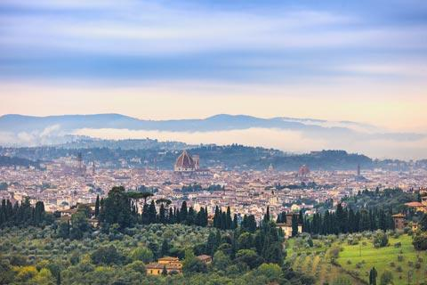 View across Florence from Fiesole