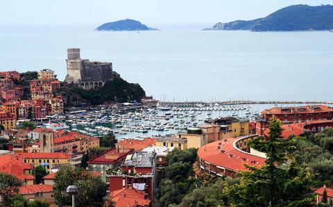 Lerici boats in harbour
