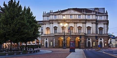La Scala, world famous Milan opera house