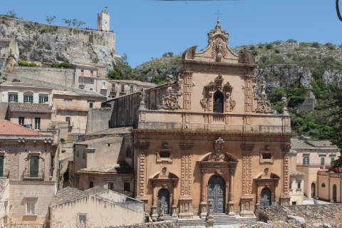 Baroque church in Modica