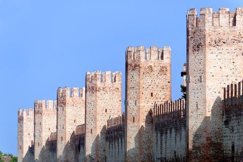 Fortified walls around Montagnana