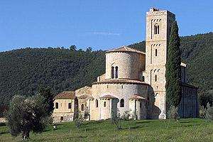 Abbey church of Sant'Antimo