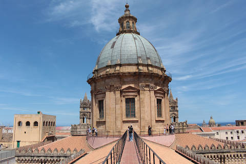 Visit the dome of Palermo cathedral