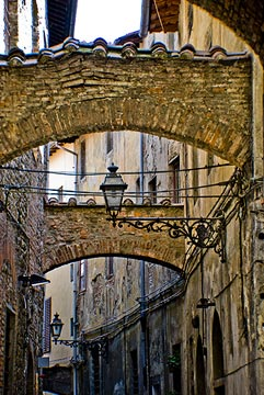 heart of Pistoia old town
