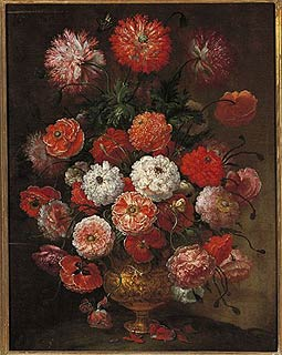 Flower painting by Bimbi in the Museum of Still Life Paintings