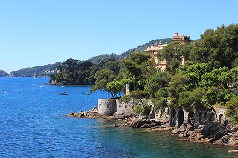 Rapallo Italy Places To Visit In And Around The Resort Of Rapallo