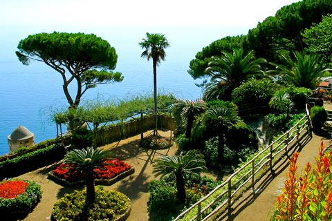 Lovely gardens of Villa Rufolo