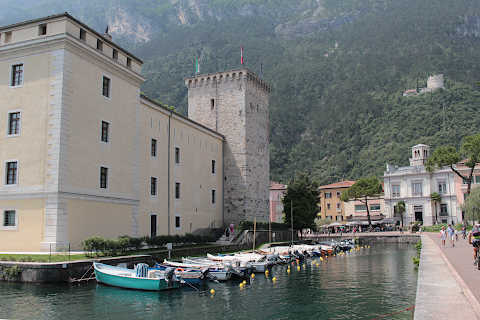 Fortress and moat in Riva del Garda